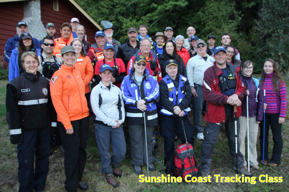 Tracking course on the Sunshine Coast