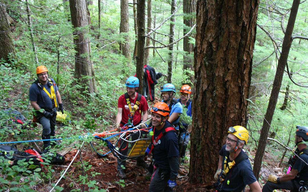Rope Rescue Training Weekend