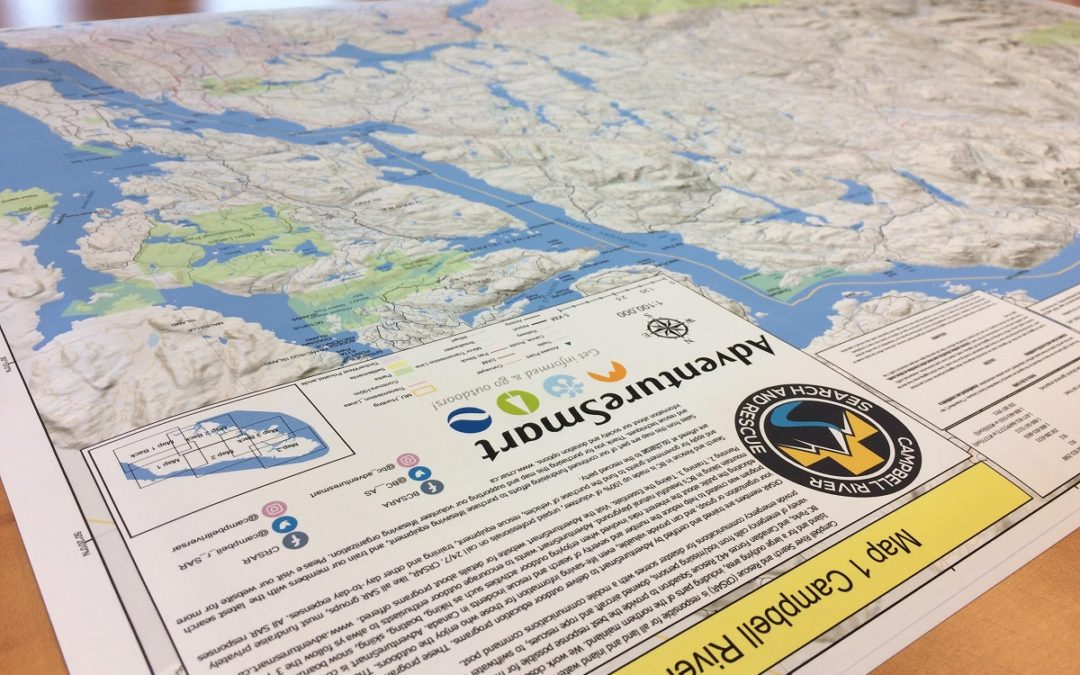 maps Campbell River Search and Rescue