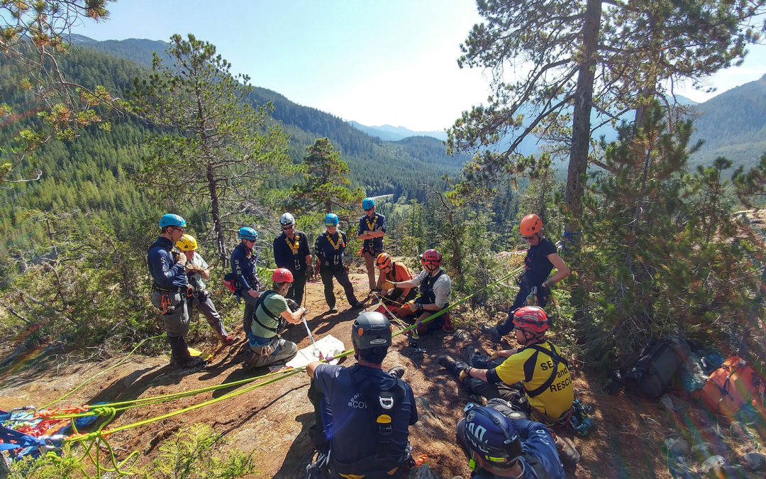 Sutton Pass Rope Rescue training weekend