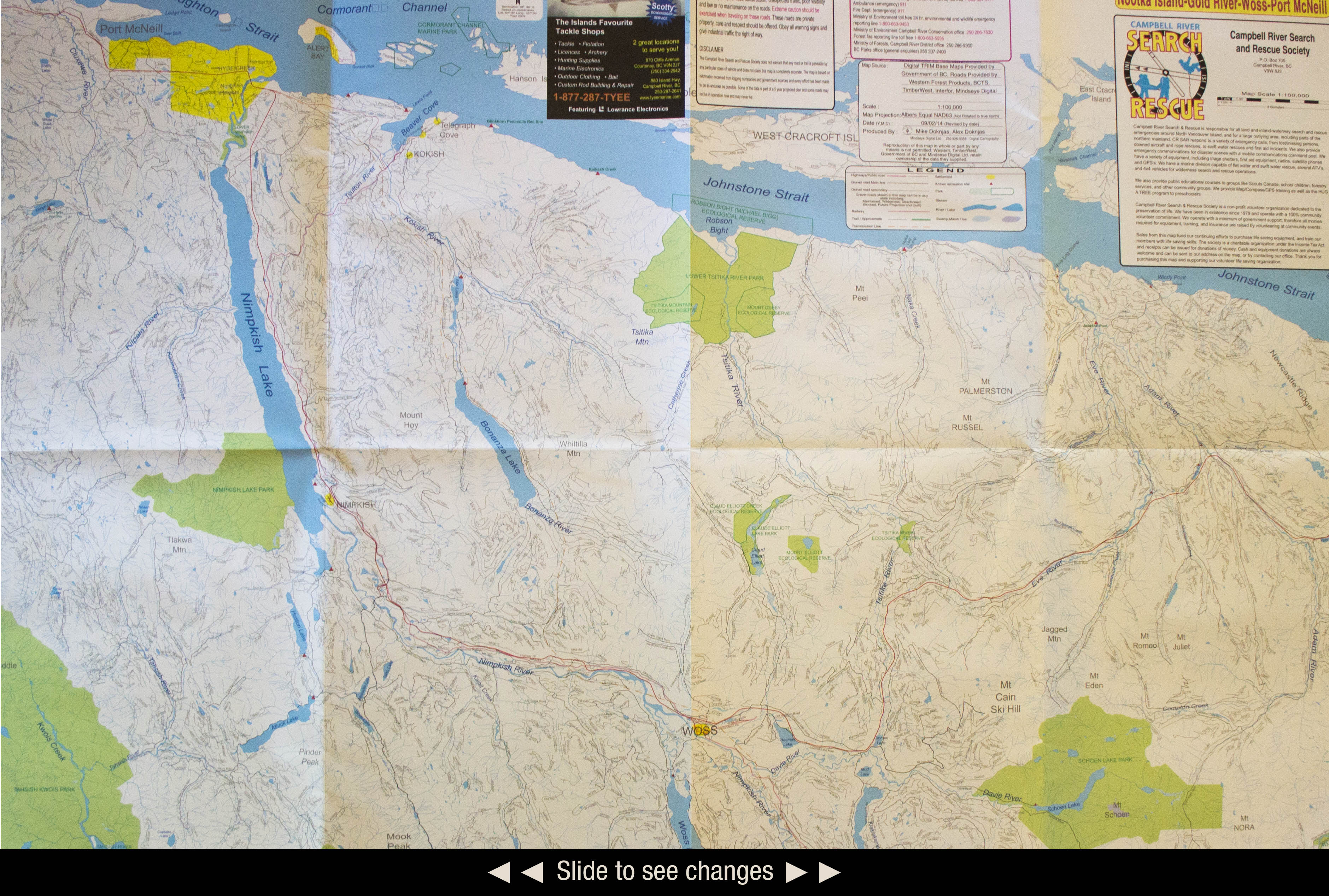 Map Sales Campbell River Search and Rescue