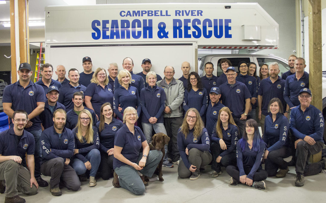 It was another busy year for Campbell River Search & Rescue.